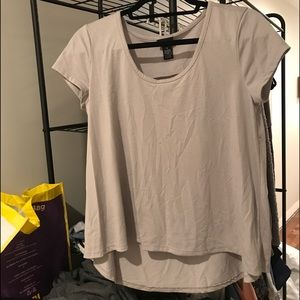 FOREVER 21 grey T